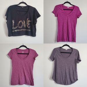 Lot of 4 T-shirts Size M